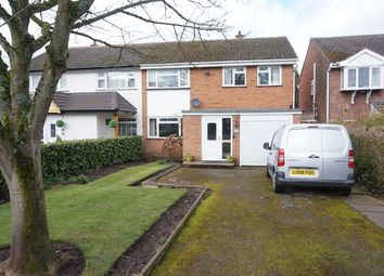 Thumbnail 3 bed semi-detached house for sale in Forge Lane, Little Aston, Sutton Coldfield