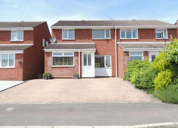 Thumbnail 3 bed semi-detached house for sale in Withington Close, Bitton, Bristol