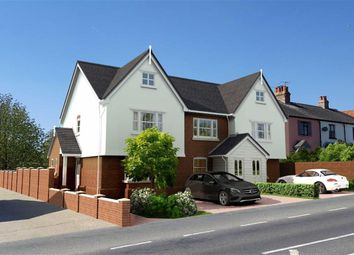 Thumbnail 3 bed end terrace house for sale in Carpenters, High Road, Thornwood Common, Essex