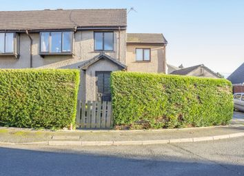 Thumbnail 4 bed semi-detached house for sale in The Croft, Flookburgh, Grange-Over-Sands