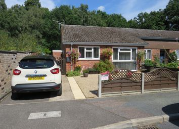 Thumbnail 2 bed terraced bungalow for sale in Juniper Close, Mildenhall, Bury St. Edmunds