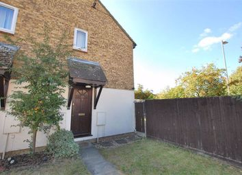 Thumbnail 1 bed end terrace house to rent in The Pastures, Chells Manor, Stevenage, Herts