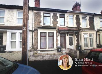 2 bed terraced house for sale in Strathnairn Street, Roath, Cardiff CF24