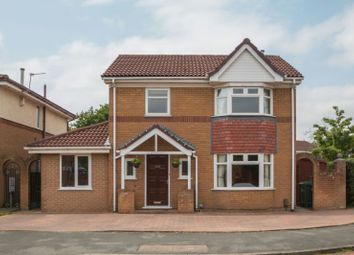 Thumbnail 4 bed detached house for sale in Barlow Road, Broadheath, Altrincham