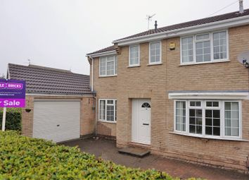 Thumbnail 3 bed semi-detached house for sale in Doyle Close, Loughborough