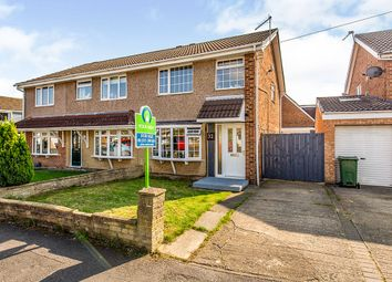 Thumbnail 3 bed semi-detached house for sale in Burnmoor Drive, Eaglescliffe, Stockton-On-Tees, Durham