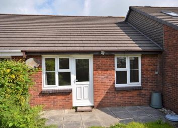 Thumbnail 2 bed terraced bungalow to rent in Coombe Road, Callington, Cornwall