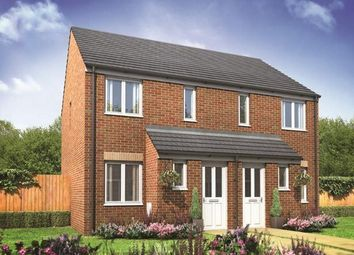 Thumbnail 2 bed terraced house for sale in Plot 46, Alnwick, New Horizons, Yaxley, Peterborough