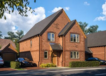 Thumbnail 4 bed detached house for sale in Sheerlands Road, Arborfield, Reading