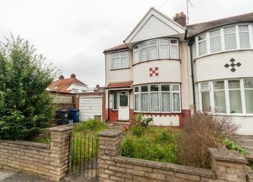 Thumbnail 3 bed end terrace house for sale in Rockford Avenue, Perivale, Greenford, Greater London