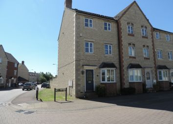 Thumbnail 3 bed end terrace house to rent in Grebe Road, Bicester