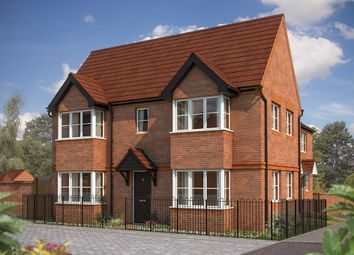 "Thumbnail 3 bed end terrace house for sale in ""The Sheringham"" at Irthlingborough Road, Wellingborough"