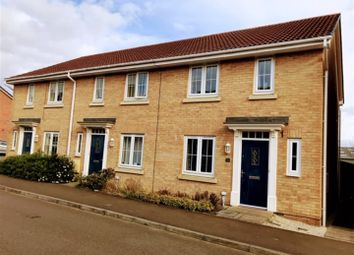 Thumbnail 3 bed end terrace house for sale in Coles Way, Grantham