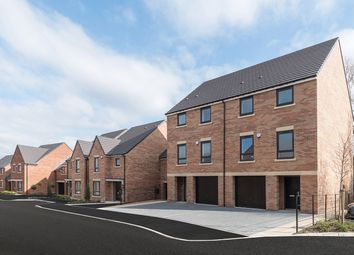 "Thumbnail 4 bedroom town house for sale in ""The Meldon"" at Loansdean, Morpeth"