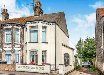 Thumbnail 3 bed end terrace house for sale in Anson Road, Great Yarmouth