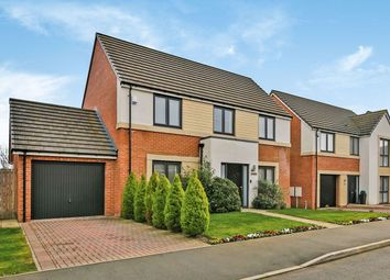 Thumbnail 4 bed detached house for sale in Woodburn Grove, Langley Moor, Durham