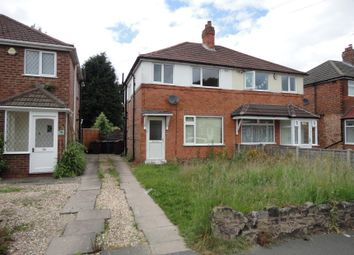 Thumbnail 3 bed semi-detached house for sale in Middleton Road, Shirley, Solihull, West Midlands