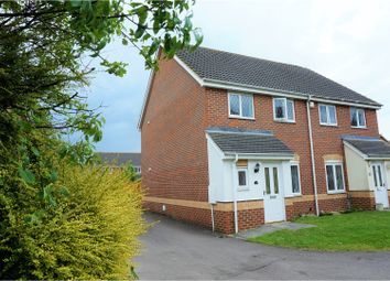 Thumbnail 3 bed semi-detached house to rent in Howberry Green, Arlesey