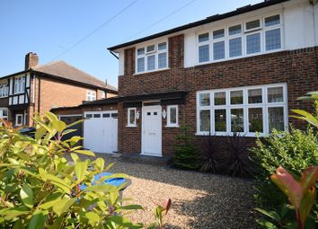 Thumbnail 4 bed semi-detached house for sale in Malden Green Avenue, Worcester Park, Surrey