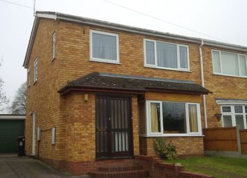 Thumbnail 4 bed semi-detached house to rent in Leigh Road, Newport