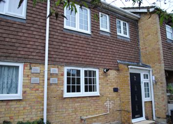 Thumbnail 3 bed terraced house to rent in Springwood Way, Gidea Park, Romford
