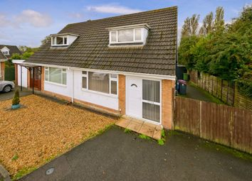 Thumbnail 2 bed semi-detached house for sale in Hazel Way, Snedshill