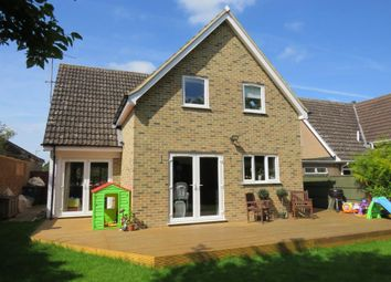 Thumbnail 4 bed detached house for sale in Hale Close, Melbourn, Royston
