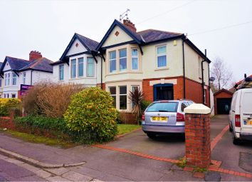 Thumbnail 3 bed semi-detached house for sale in St. Marys Road, Cardiff