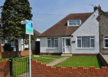 Thumbnail 3 bed semi-detached bungalow for sale in Eastbourne Road, Willingdon, Eastbourne