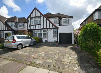 Thumbnail 4 bed detached house for sale in Parkside Drive, Edgware HA8, Middlesex