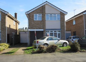 Thumbnail 4 bed detached house for sale in Montague Road, Rugby