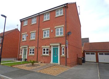 Thumbnail 4 bed town house for sale in Dukesfield, Shiremoor, Newcastle Upon Tyne