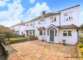 Thumbnail 4 bed semi-detached house for sale in Worple Road, Staines