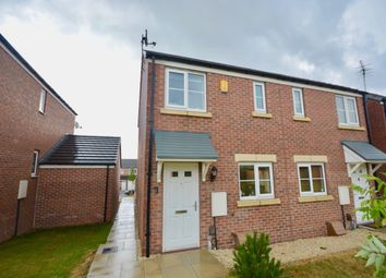 Thumbnail 2 bed semi-detached house for sale in John Street Way, Wombwell, Barnsley