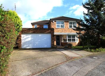 Thumbnail 4 bedroom detached house for sale in Lancaster Close, Reading, Berkshire