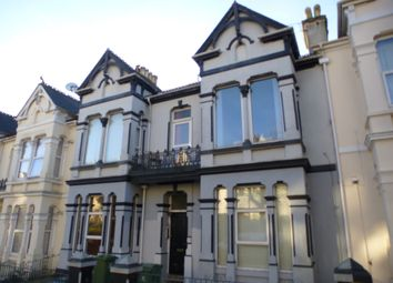 Thumbnail 1 bedroom flat for sale in Connaught Avenue, Mutley, Plymouth