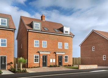 "Thumbnail 3 bed semi-detached house for sale in ""Norbury"" at Barons Road, Canford"