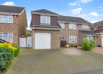 Thumbnail 4 bed semi-detached house for sale in Rushbottom Lane, Benfleet