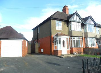Thumbnail 3 bed semi-detached house to rent in Kenwood Road, Shrewsbury