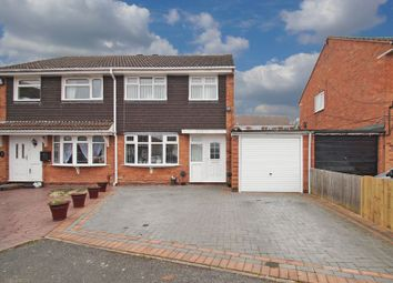 Thumbnail 3 bedroom semi-detached house for sale in Newent Close, Redditch