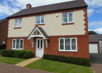 Thumbnail 4 bed detached house for sale in Mabbs Close, Worcester