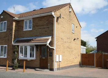 Thumbnail 2 bed semi-detached house for sale in Ferndale Drive, Ratby, Leicester
