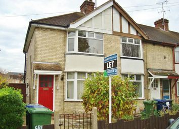 Thumbnail 2 bed semi-detached house to rent in Brampton Road, Cambridge