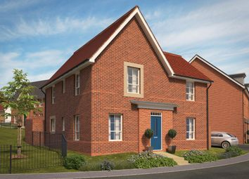 "Thumbnail 4 bed detached house for sale in ""Lincoln"" at Pinn Lane, Pinhoe, Exeter"