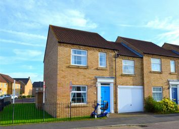Thumbnail 3 bed end terrace house for sale in Chapman Way, Eynesbury Manor, St Neots, Cambridgeshire