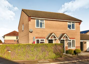 Thumbnail 2 bed semi-detached house for sale in Brooks Drive, Scarning, Dereham