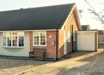 Thumbnail 2 bed semi-detached bungalow for sale in Buller Close, Collingham, Newark
