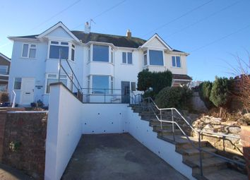 Thumbnail 3 bed terraced house to rent in Roundham Road, Paignton