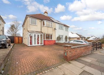 Thumbnail 3 bed semi-detached house for sale in Christianfields Avenue, Gravesend, Kent