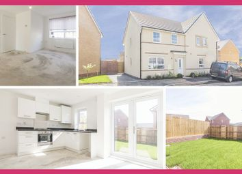 Thumbnail 3 bed semi-detached house for sale in James Prosser Way, Llantarnam, Cwmbran